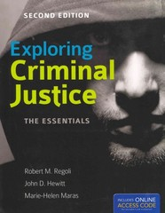 Exploring Criminal Justice 2nd Edition 9781449652418 1449652417