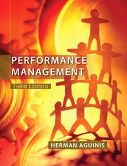Performance Management 3rd Edition 9780132556385 0132556383