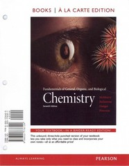 Fundamentals of General Organic & Biological Chemistry, Books a la Carte Plus MasteringChemistry with eText -- Access Card Package 7th edition 9780321767257 032176725X