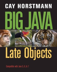 Big Java Late Objects 1st Edition 9781118214572 1118214579
