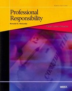 Professional Responsibility 9th Edition 9780314275530 0314275533