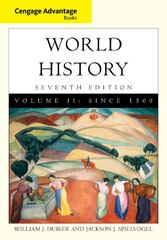 Cengage Advantage Books: World History 7th edition 9781133710110 1133710115