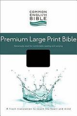 CEB Common English Bible Premium Large Print Decotone Black Onyx 0 9781609260651 1609260651