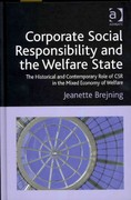 Corporate Social Responsibility and the Welfare State 1st Edition 9781317159377 1317159373