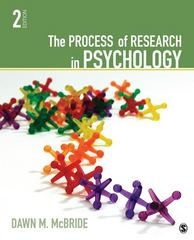 The Process of Research in Psychology 2nd Edition 9781412999557 1412999553