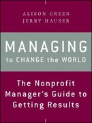 Managing to Change the World 2nd Edition 9781118137611 1118137612