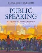 Public Speaking: An Audience-Centered Approach with MySpeechLab with eText 8th edition 9780205043224 0205043224