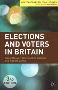 Elections and Voters in Britain 3rd edition 9780230241619 0230241611