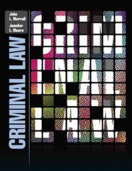 Criminal Law 1st Edition 9780131383173 0131383175