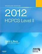 2012 HCPCS Level II Standard Edition 1st Edition 9781455707713 1455707716