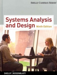 Systems Analysis and Design (Book Only) 9th edition 9781133274636 1133274633