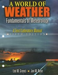 A World of Weather 5th edition 9780757594267 0757594263