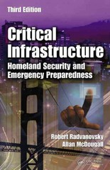 Critical Infrastructure 3rd Edition 9781466503458 1466503459