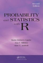 Probability and Statistics with R, Second Edition 2nd Edition 9781466504394 1466504390