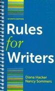 Rules for Writers 7e & E-Book (Four Year Access) 7th edition 9781457620300 1457620308