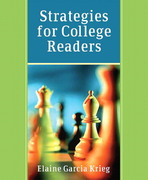 Strategies for College Readers 1st edition 9780321202758 0321202759