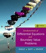 Fundamentals of Differential Equations with Boundary Value Problems 5th edition 9780321388438 0321388437