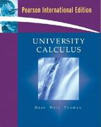 University Calculus 1st edition 9780321416308 0321416309