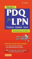 Mosby's PDQ for LPN 3rd Edition 9780323084475 0323084478
