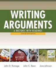 Writing Arguments 6th edition 9780205171491 0205171494