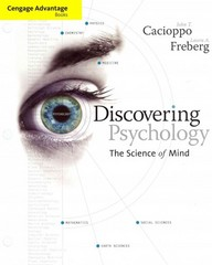 Cengage Advantage Books: Discovering Psychology 1st edition 9781111836276 1111836272