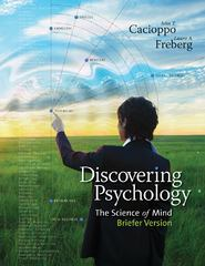 Discovering Psychology 1st edition 9781111837747 1111837740