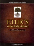 Ethics in Rehabilitation 2nd Edition 9781617110375 161711037X