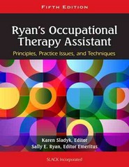 Ryan's Occupational Therapy Assistant 5th Edition 9781556429620 1556429622
