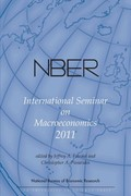 NBER International Seminar on Macroeconomics 2011, Volume 8 0 9780226260358 0226260356
