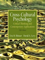 Cross-Cultural Psychology 5th Edition 9781317349105 1317349105
