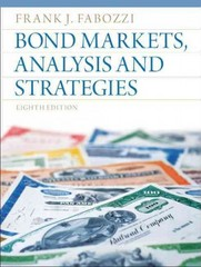 Bond Markets, Analysis and Strategies 8th edition 9780132743549 013274354X