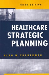 Healthcare Strategic Planning 3rd edition 9781567934342 156793434X