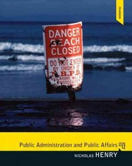 Public Administration and Public Affairs 12th edition 9780205855865 0205855865