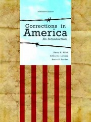 Corrections in America 13th edition 9780132726771 0132726777