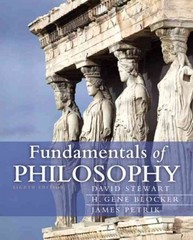 Fundamentals of Philosophy 8th Edition 9780205242993 0205242995