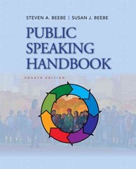 Public Speaking Handbook 4th edition 9780205029402 020502940X