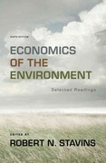 Economics of the Environment 6th Edition 9780393913408 0393913406