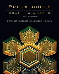 Precalculus: Graphs and Models 4th Edition 9780321525345 0321525345