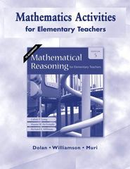 Mathematics Activities for Elementary Teachers for Mathematical Reasoning for Elementary Teachers 5th edition 9780321528629 032152862X