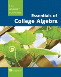 MathXL Tutorials on CD for College Algebra 10th edition 9780321530462 0321530462