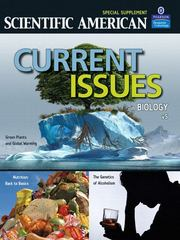 Current Issues in Biology Volume 5 1st edition 9780321541871 0321541871