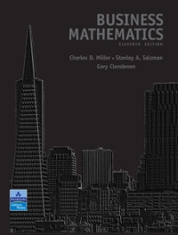Student's Solutions Manual for Business Mathematics 11th edition 9780321543035 0321543033