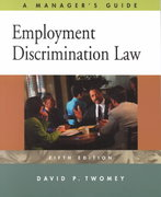 Employment Discrimination Law 5th edition 9780324061994 0324061994