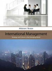 International Management 1st edition 9780324406313 0324406312