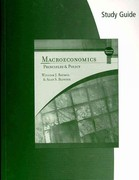 Study Guide for Baumol/Blinder's Macroeconomics: Principles and Policy 11th edition 9780324586244 0324586248