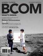 BCOM (with Review Cards and Printed Access Card) 1st edition 9780324587906 0324587902