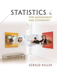 Statistics for Management and Economics (Book Only) 8th edition 9780324653373 0324653379