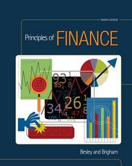 Principles of Finance 4th edition 9780324655889 0324655886