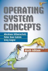 Operating System Concepts 9th Edition 9781118559635 1118559630