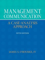 Management Communication 5th Edition 9780132671408 0132671409